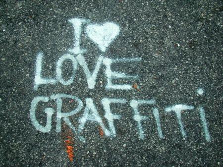 I Love grafite